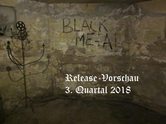 Release-Vorschau 3. Quartal 2018