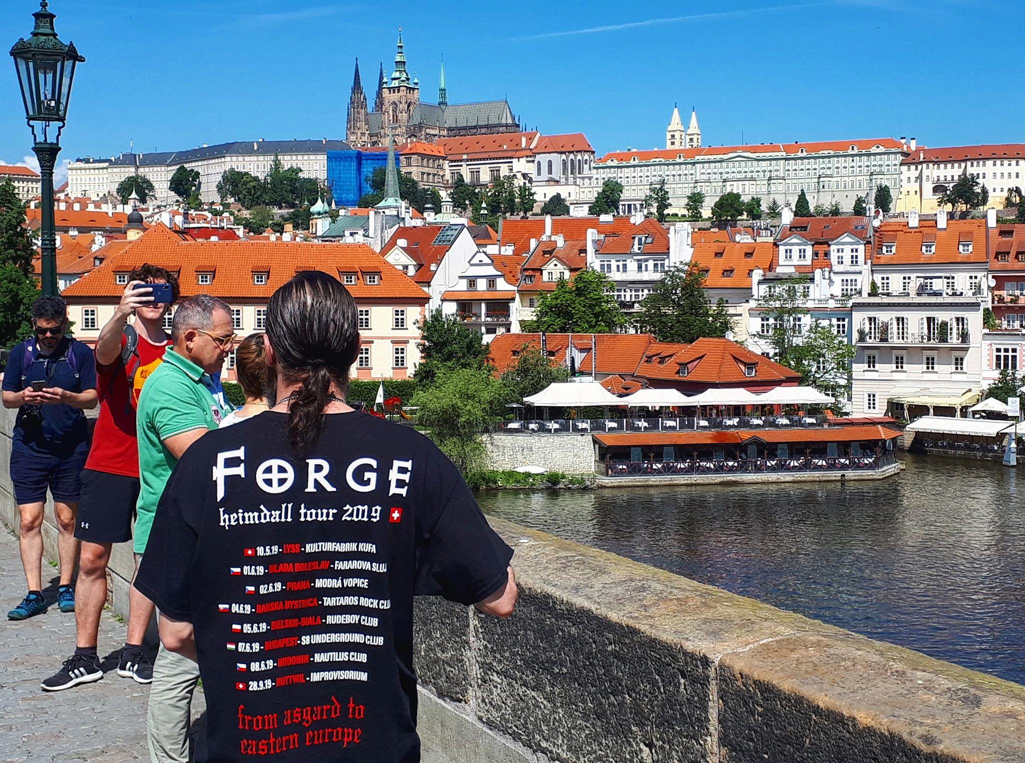 Forge in Prag